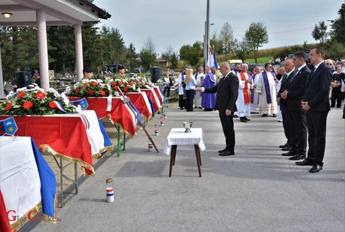 U Vagancu pokopano 55 žrtava partizanskog zločina