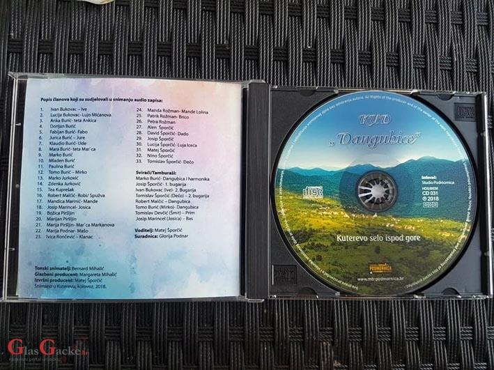 Kuterevo selo ispod gore - CD KUD-a Dangubice