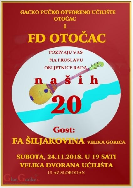 20 godina Folklornog društva Otočac