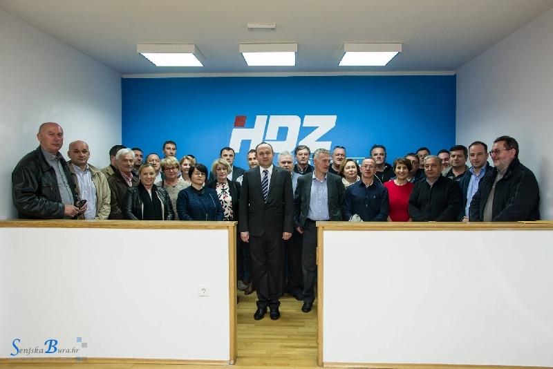 Reagiranje predsjednika GO HDZ-a Senj i gradonačelnika grada Senja Sanjina Rukavine