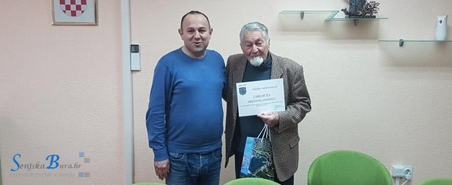 Senjski gradonačelnik upriličio prijam za prof. Krešimira Stanišića