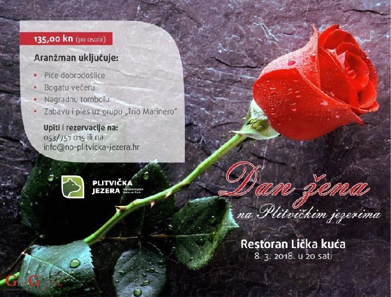 Dan žena na Plitvičkim jezerima