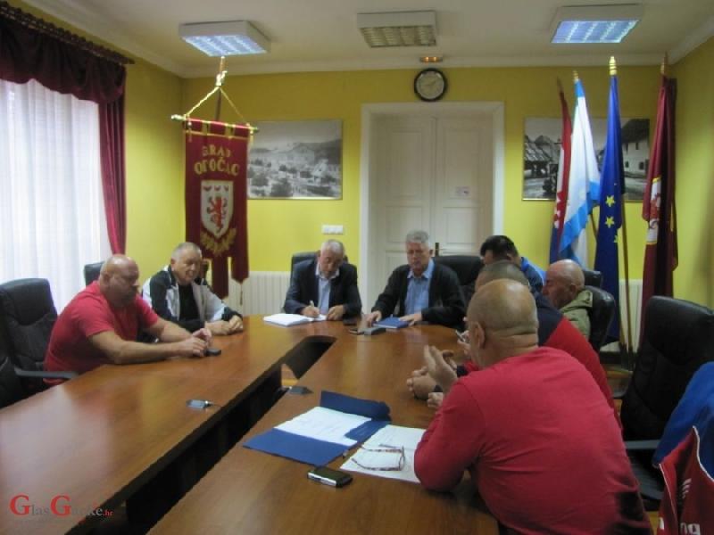 Predsjednici udruga iz Domovinskog rata kod gradonačelnika Kostelca