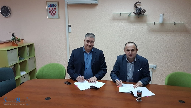 Potpisan Ugovor o javnoj nabavi radova Izgradnja plaže i šetnice Škver u Senju