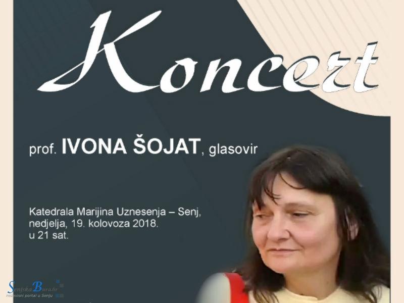 Koncert pijanistice Ivone Šojat u senjskoj Katedrali