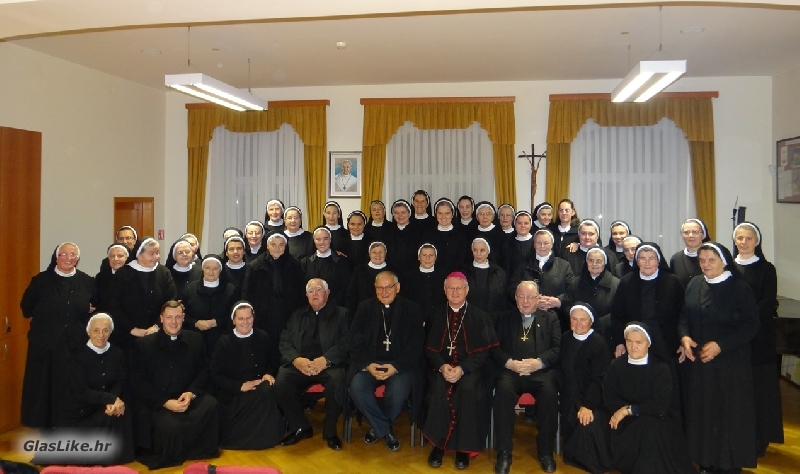 Šibenske sestre franjevke posjetile našu Biskupiju i Biskupa