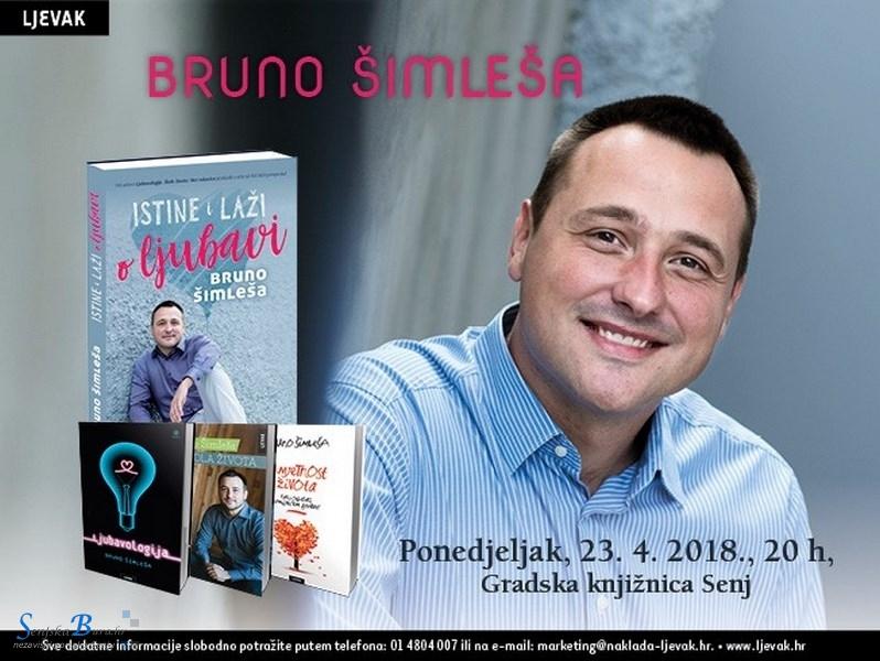 Noć knjige s Brunom Šimlešom