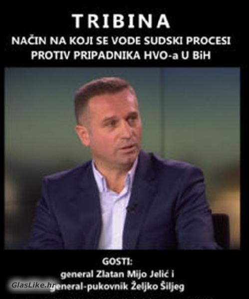 """Večeras tribina """"Sudski procesi protiv hrvatskih branitelja u BiH..."""""""