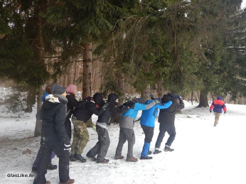 24 mladih odvažilo se na zimsku Outward Bound pustolovinu