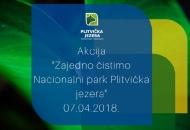 Akcija čišćenja Plitvičkih jezera