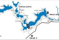 Otvorena Gornja jezera za posjetitelje