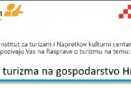 Utjecaj turizma na hrvatsko gospodarstvo - 20. travnja
