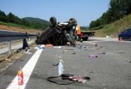 Smrtni danak na autocesti kod Brinja