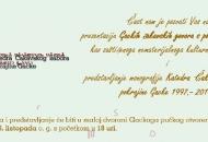 Večeras o zaštićenima gackim čakavskim govorima i monografiji Katedre