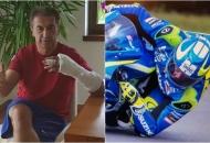 Darko Milinović pao s motora pri brzini od 200 km/h