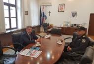 Radni sastanak župana dr.Milinovića i načelnika PU ličko-senjske