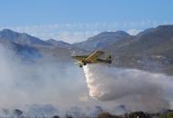 Protupožarni izviđački zrakoplovi na nebu iznad Ličko - senjske županije