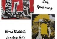 Samostalna izložba Borne Matičić studentice riječke Akademije primjerenih umjetnosti
