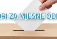 Izbori za članove vijeća mjesnih odbora