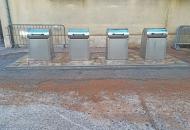 Prvi od sedam podzemnih kontejnera postavljen na Frankopanskom trgu u Senju