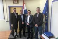 Marijan Kustić i ministar prometa Oleg Butković o projektima za Udbinu
