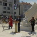 Otkriven Spomenik poginulim hrvatskim braniteljima u Domovinskom ratu s područja grada Senja