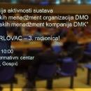 31. siječnja - radionica o destinacijskomu menadžmentu