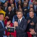 Plenković u Gospiću: 'Do ovih izbora dolazi zbog čudnih, pogrešnih i nerazumljivih poteza...'