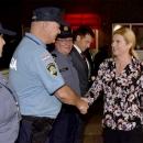 Predsjednica obišla zelenu granicu s Bosnom i Hercegovinom