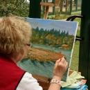 Likovni umjetnici na Plitvicama