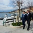 Ministar Oleg Butković u radnom posjetu Senju