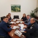 Radni sastanak kod župana Milinovića: povećanja sigurnosti kretanja zbog moguće minske opasnosti na području LSŽ-e