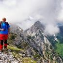 Otočani zavijorili hrvatskom zastavom na Karavankama