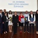 Dobitnici javnih priznanja i godišnje nagrade Ličko-senjske županije