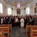 Sv. Misa u župnoj crkvi povodom Dana škole za pokojne djelatnike Osnove škole Zrinskih Frankopana - Otočac