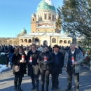 Izaslanstvo Općine Brinje položilo vijenac i zapalilo svijeće na grobu dr. Franje Tuđmana