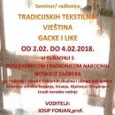 Seminar tradicijskih tekstilnih vještina Gacke i Like