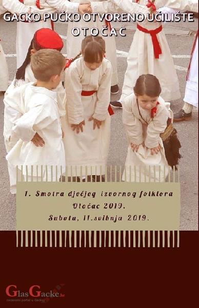 1. Smotra dječjega izvornoga folklora - 11. svibnja