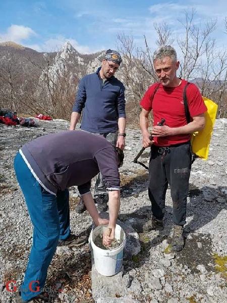 Gromovčani obilježili staze na srednjem Velebitu