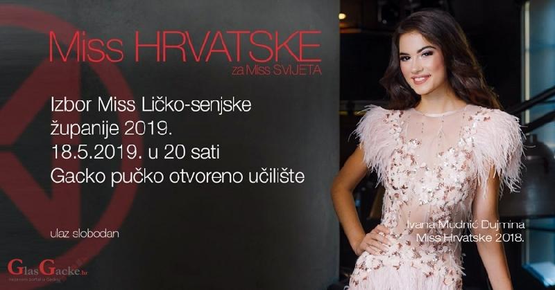 U subotu izbor Miss Ličko-senjske županije