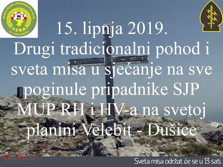 Drugi pohod na Velebit za poginule pripadnike Specijalne policije MUP-a i HV-a