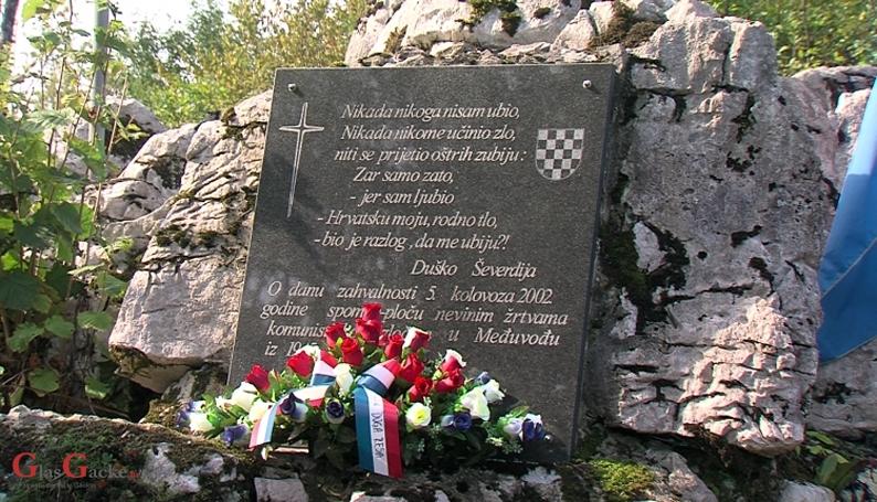 Bogović u Međuvođama na komemoraciji komunističkih žrtava
