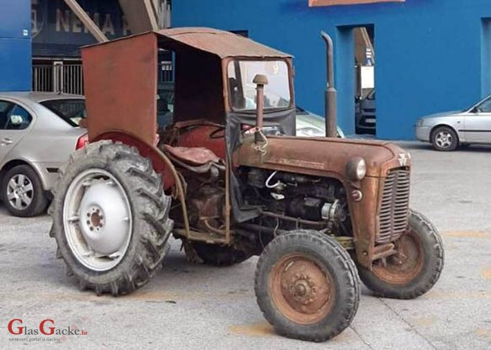 Tko tebe tenkom, ti njega - traktorom!