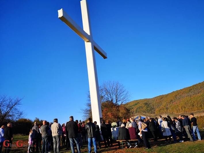 Blagoslovljen Zavjetni križ u Kompolju