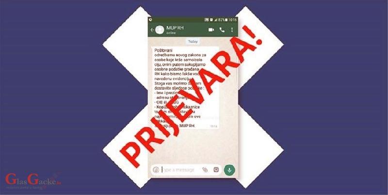 Upozorenje građanima - ne dajte osobne podatke preko mobilnih aplikacija