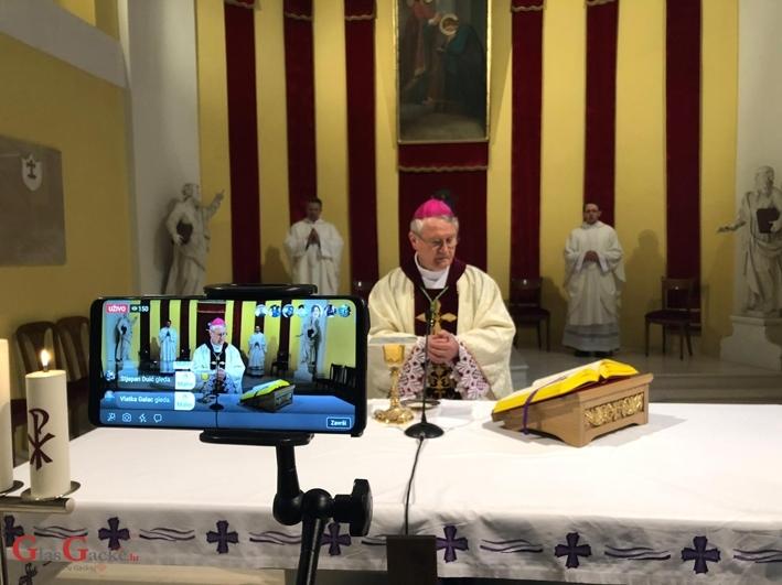 Misa na Blagovijesti bez vjernog naroda