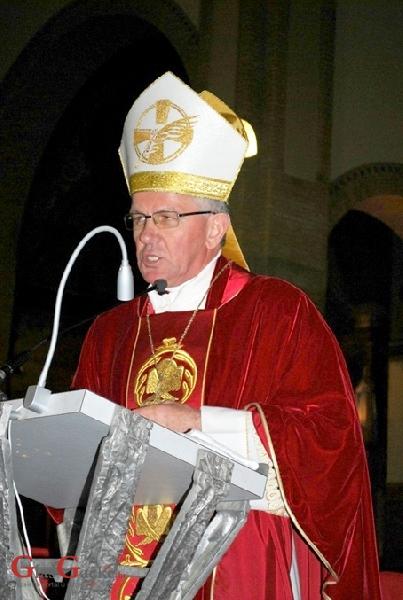 Biskup Sudar 15. ožujka u Donjem Lapcu