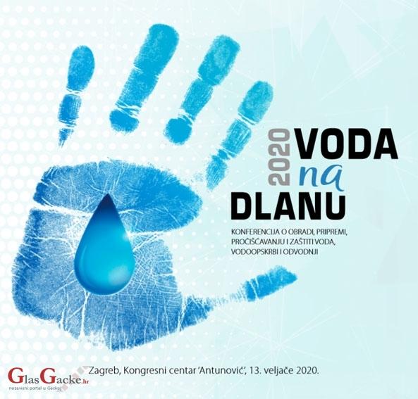 Voda na dlanu - konferencija o obradi, pripremi, pročišćavanju i zaštiti voda, vodoopskrbi i odvodnji