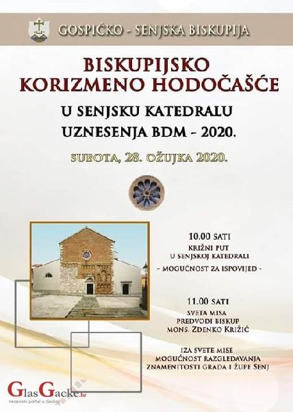 Korizmeno hodočašće u senjsku katedralu