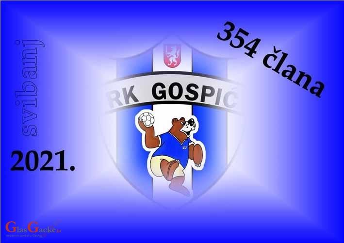 Rukometni klub Gospić ima čak 354 člana